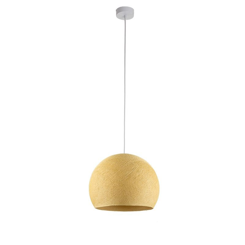 Suspension simple coupole M moutarde