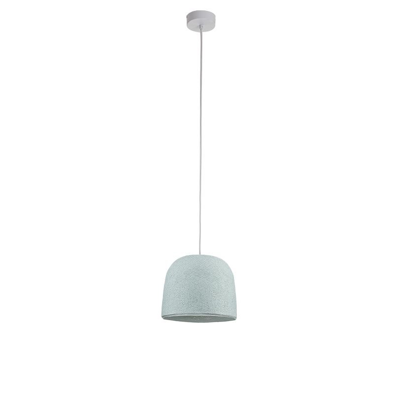 Suspension simple cloche azur