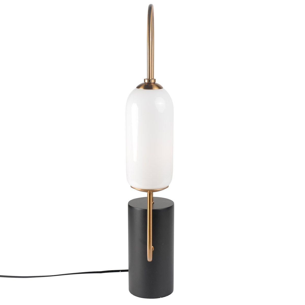 CLASSY - Lampe sur socle noir