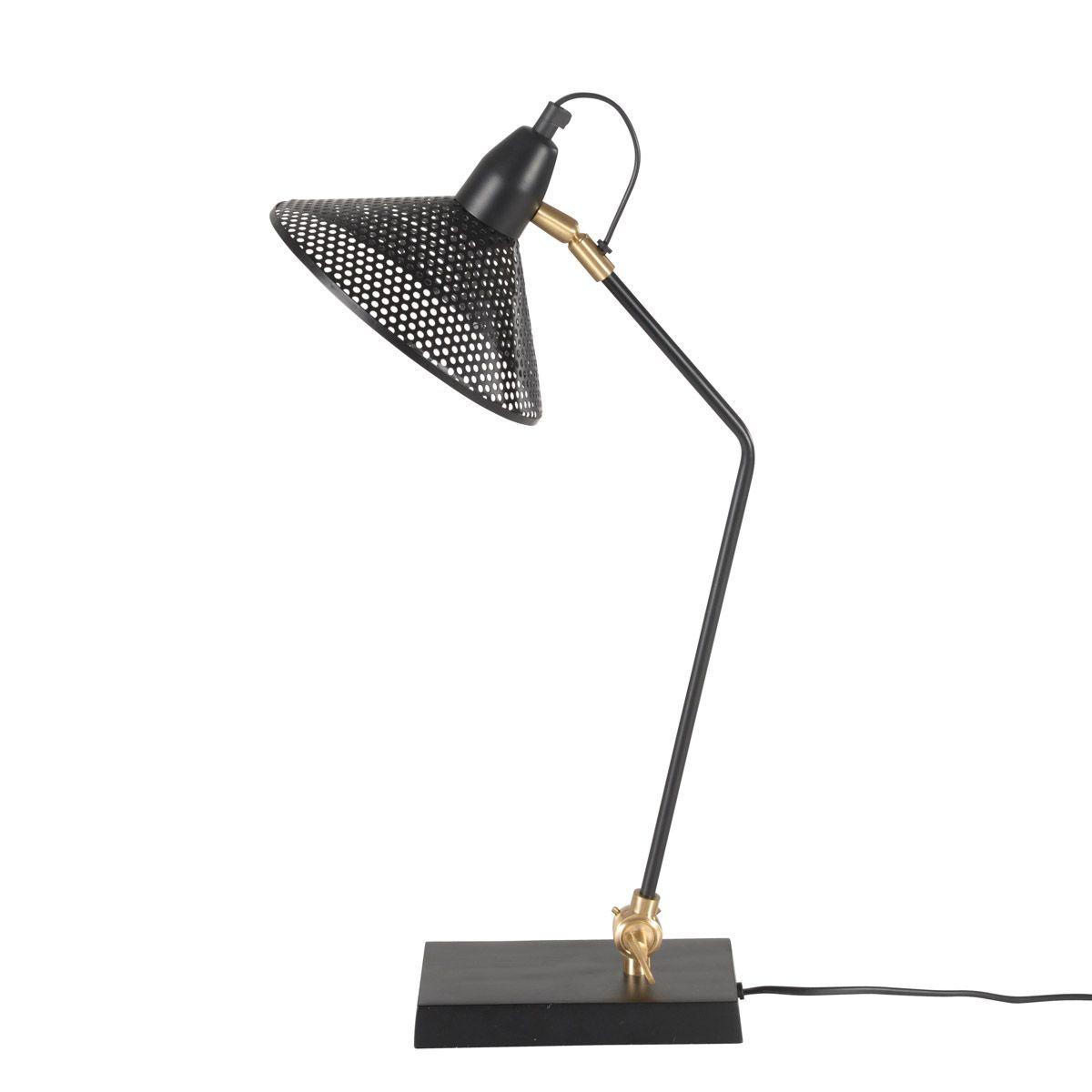 Lampe de bureau  noir