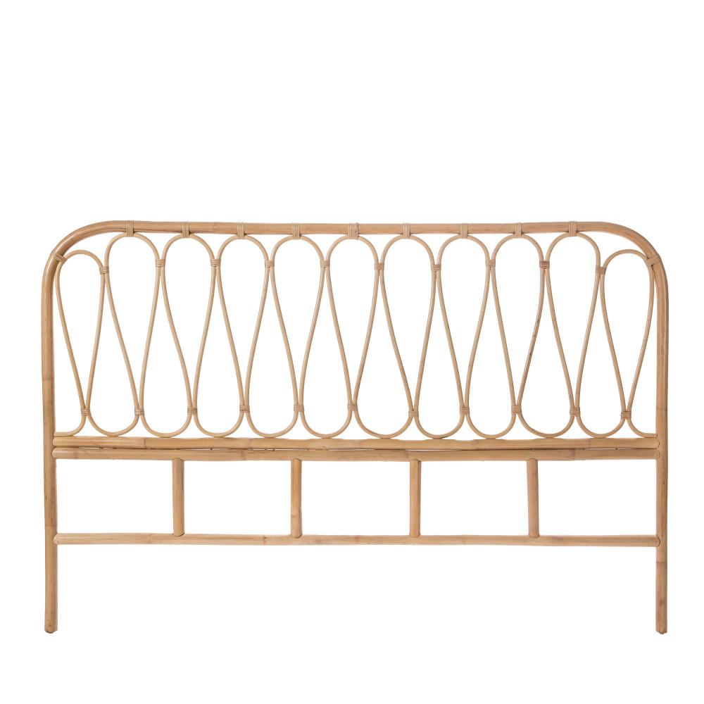 Tête de lit en rotin 168 cm
