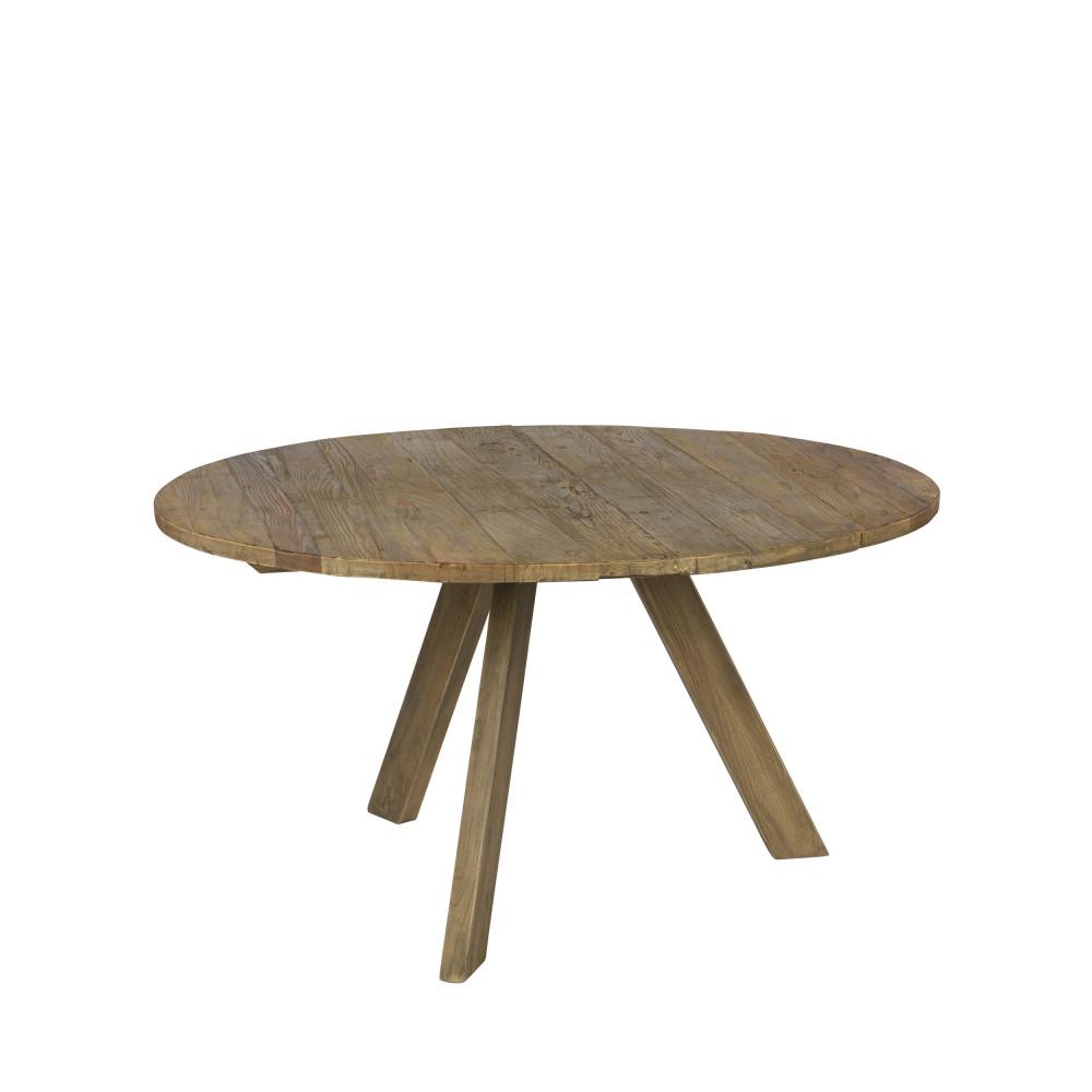 maison du monde Table à manger ronde D140cm naturel
