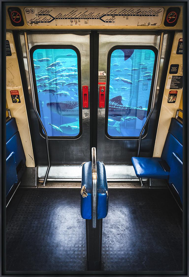 RER BOCAL - Photo encadrée de Mathieu Alemany 60x90 cm