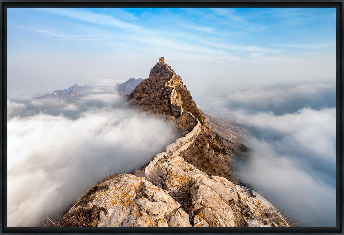 THE GREAT WALL - Photo encadrée de Jimi Lin 90 x 60 cm