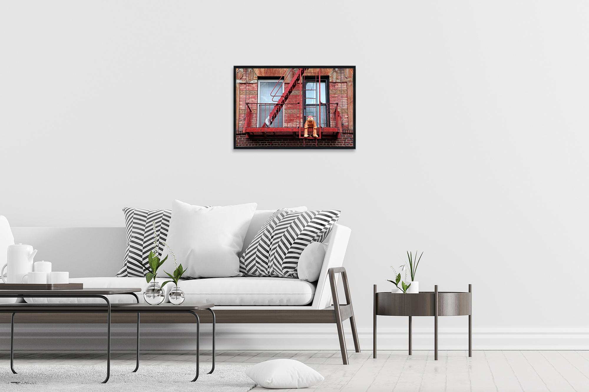 MONKEY - Photo encadrée de Marie Calfopoulos 90 x 60 cm