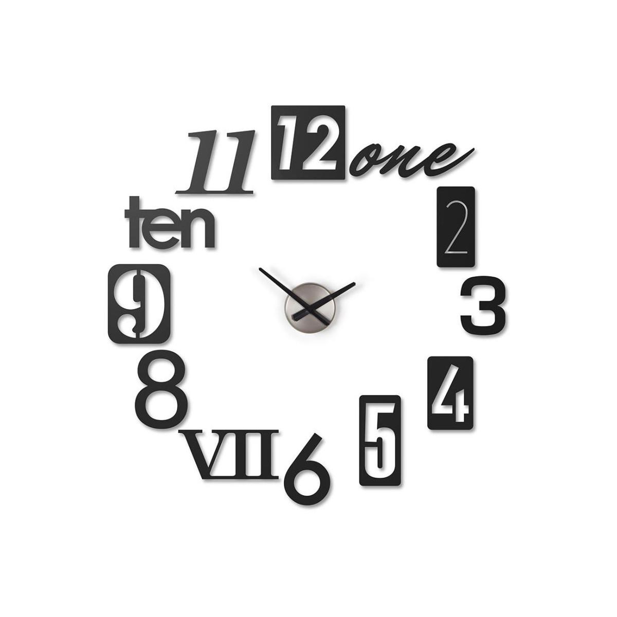 Horloge murale silencieuse D 55cm