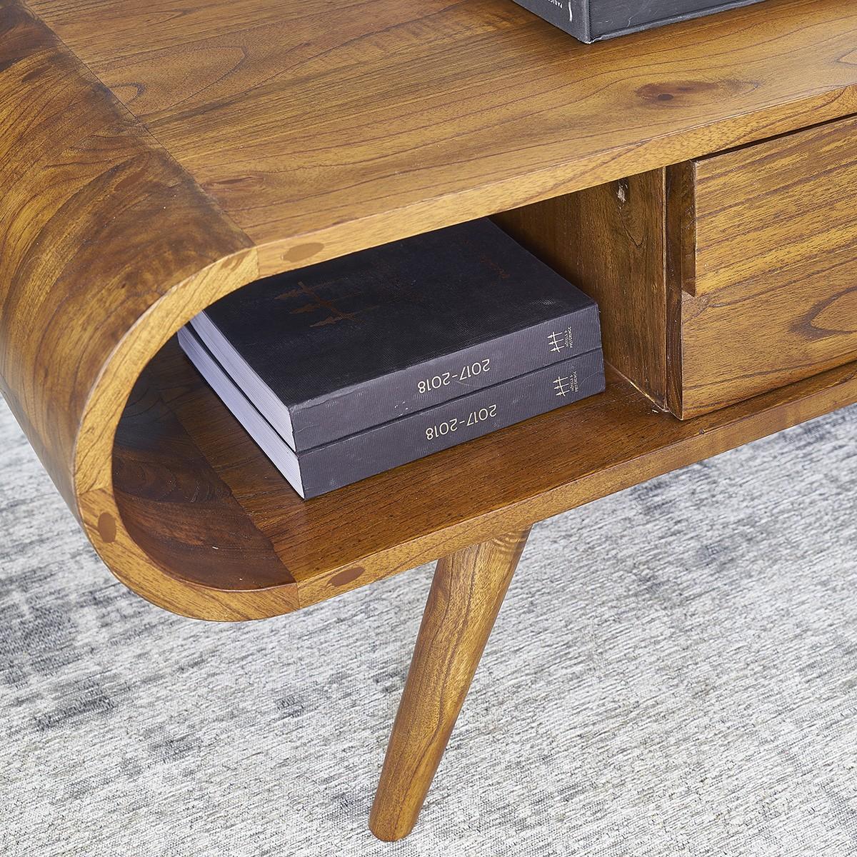 Table basse 1 tiroir en mindy
