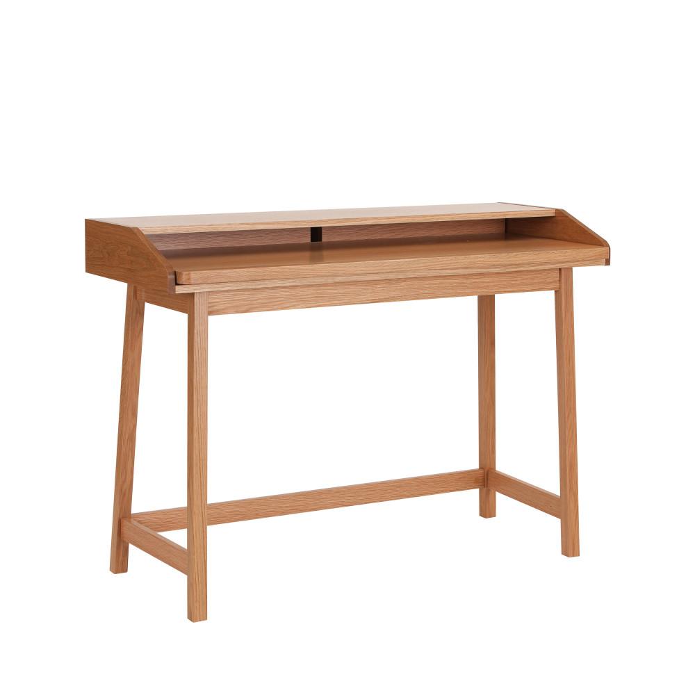 Bureau design compact chêne