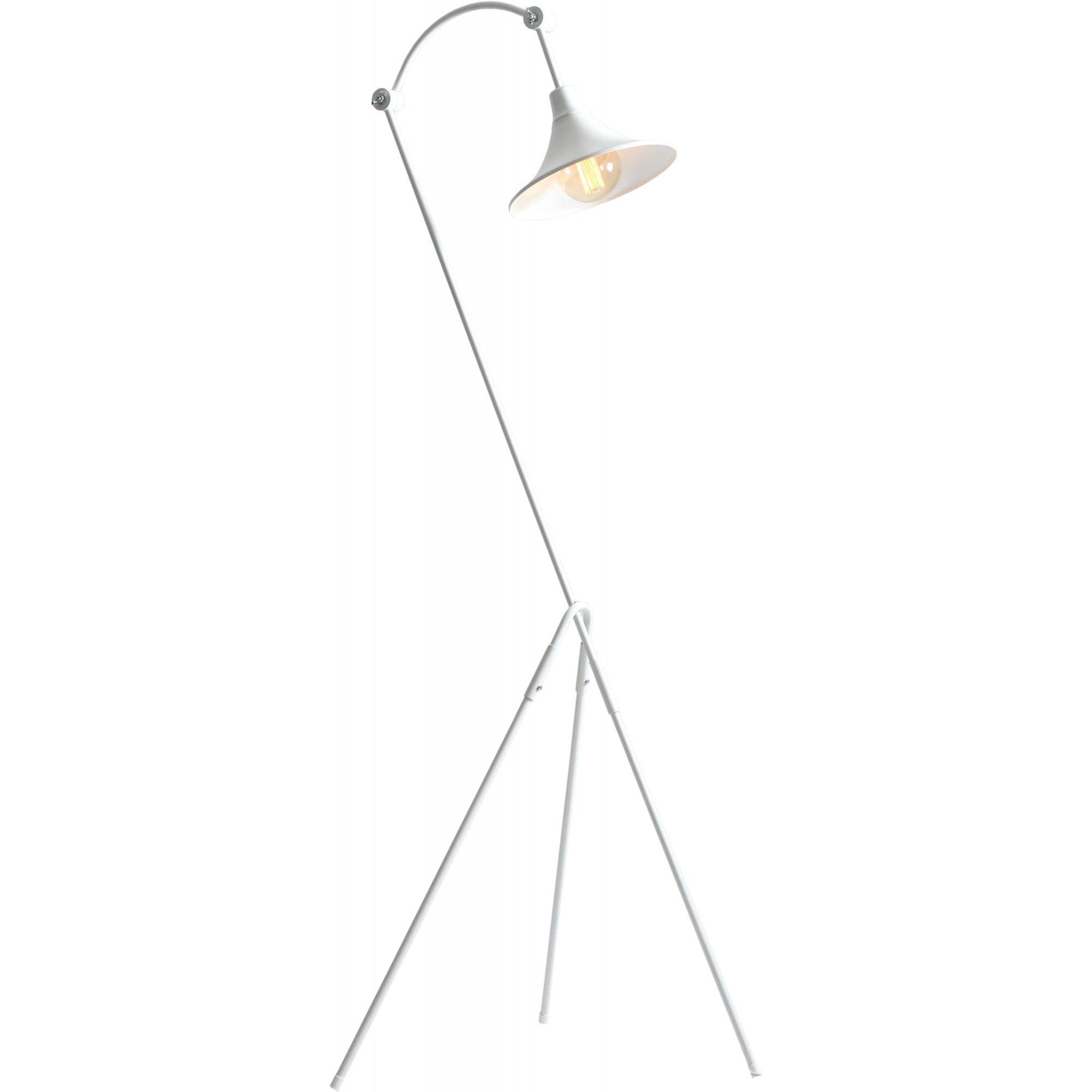Lampadaire blanc h163