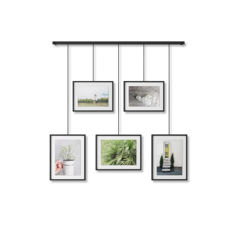 Lot de 3 patères rondes et caoutchoutées, bois coloris noyer