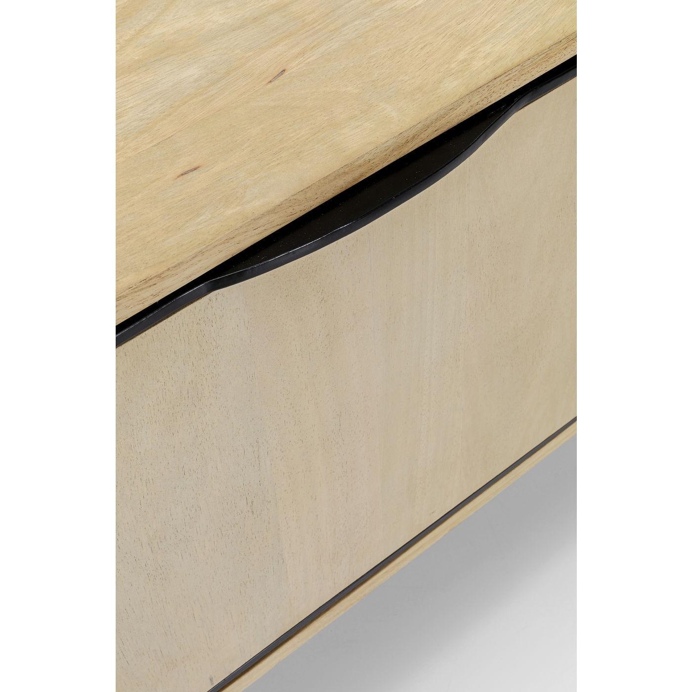 Meuble TV 1 porte 1 tiroir en manguier massif