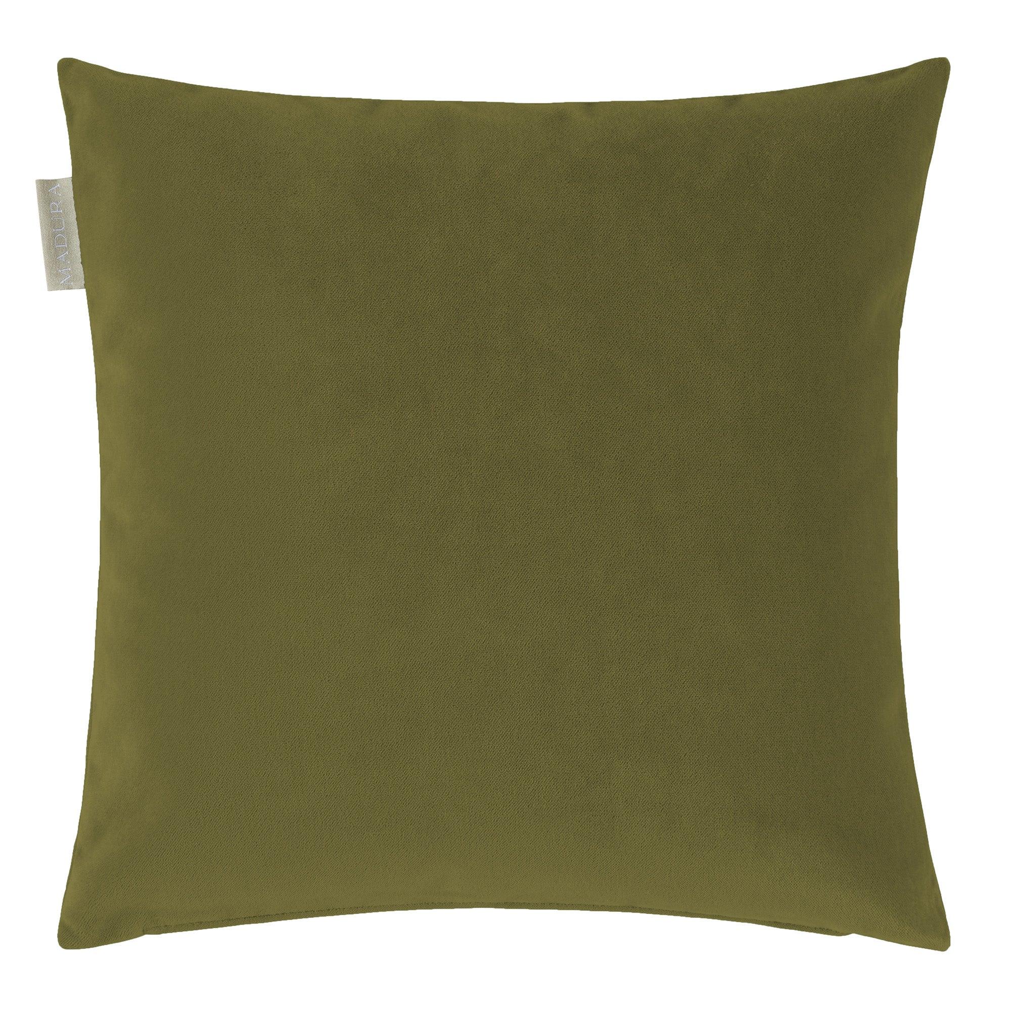 Housse de coussin 40x40 cm Vert olive