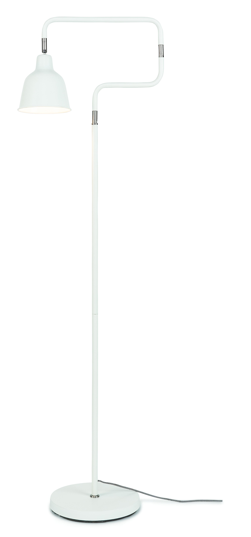 Lampadaire sur pied blanc H150cm