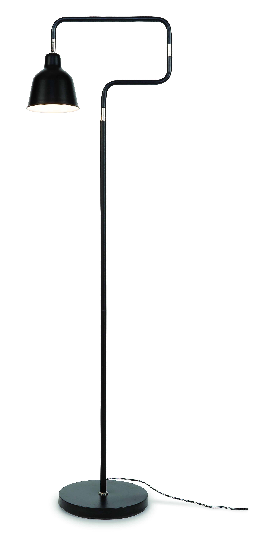Lampadaire sur pied noir H150cm