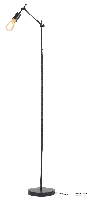 Lampadaire noir H170cm