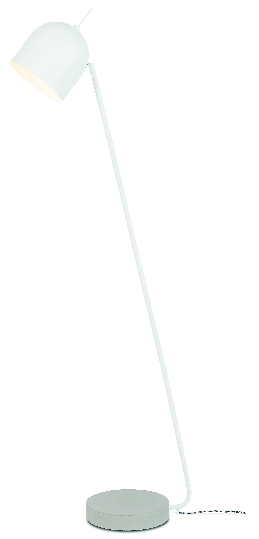 Lampadaire sur pied blanc H146cm