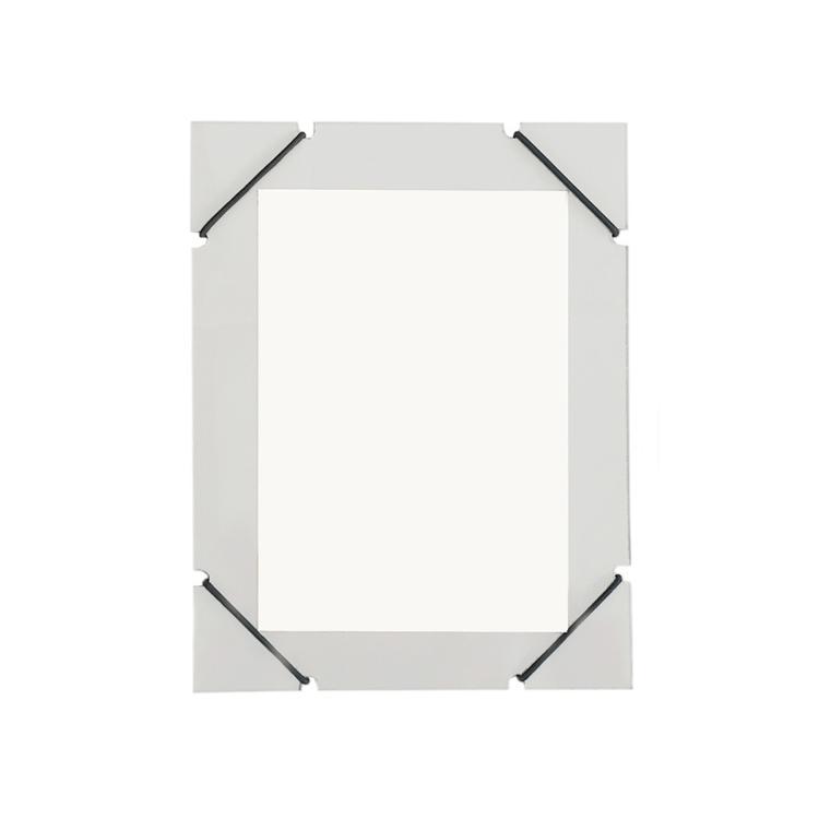 Cadre élastique gris format 21x27cm