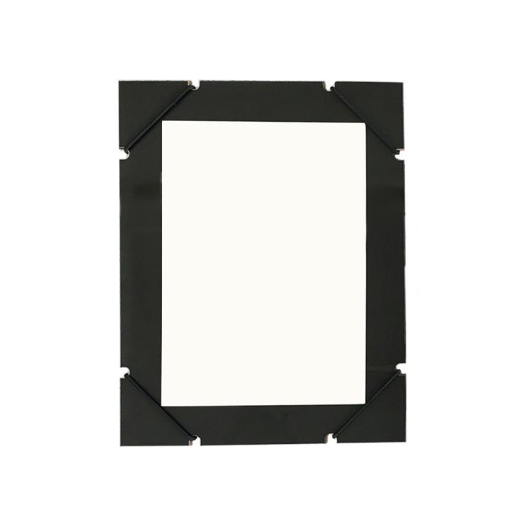 Cadre élastique noir format 21x27cm