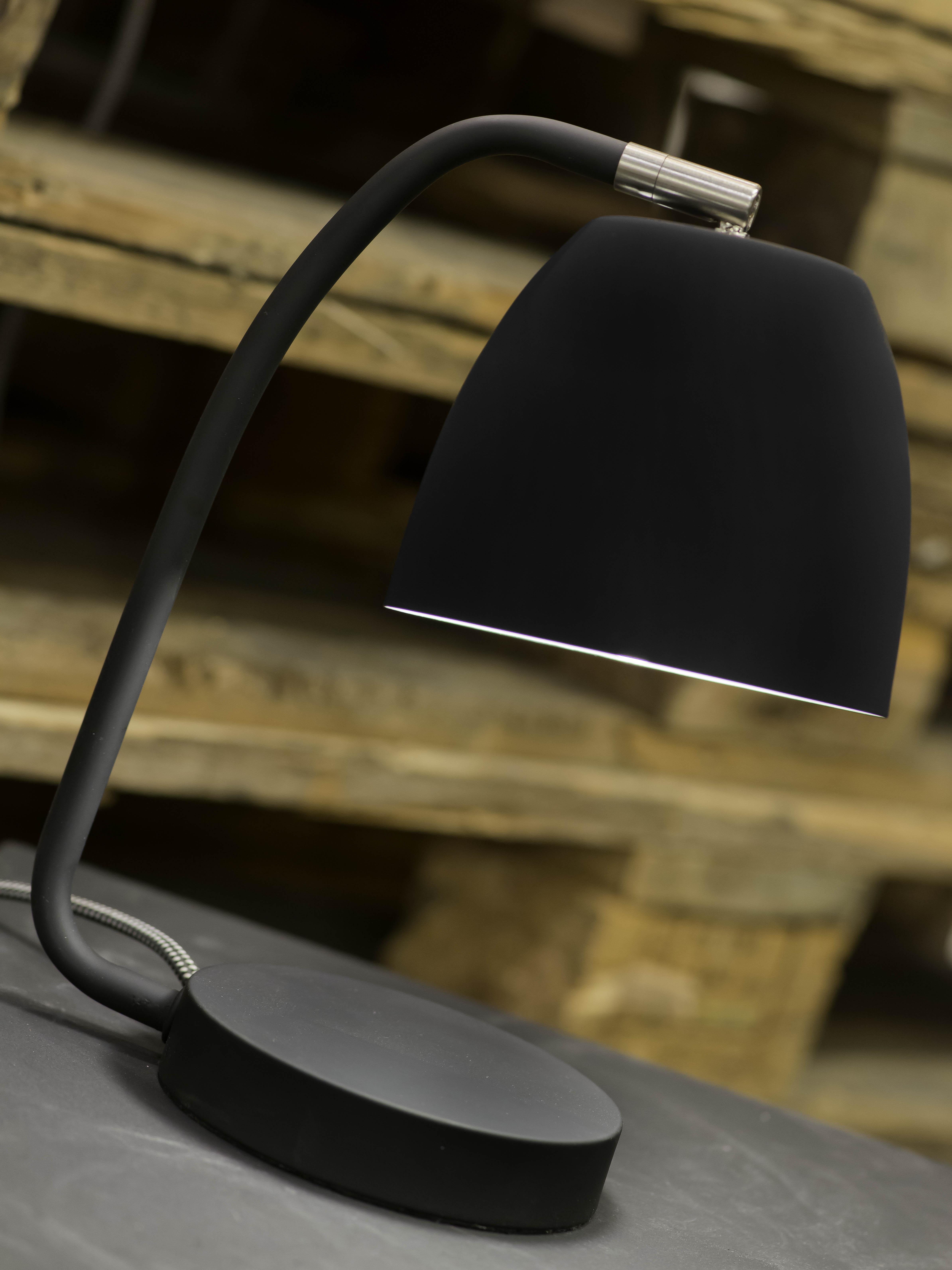 Lampe de table finition gomme H27cm
