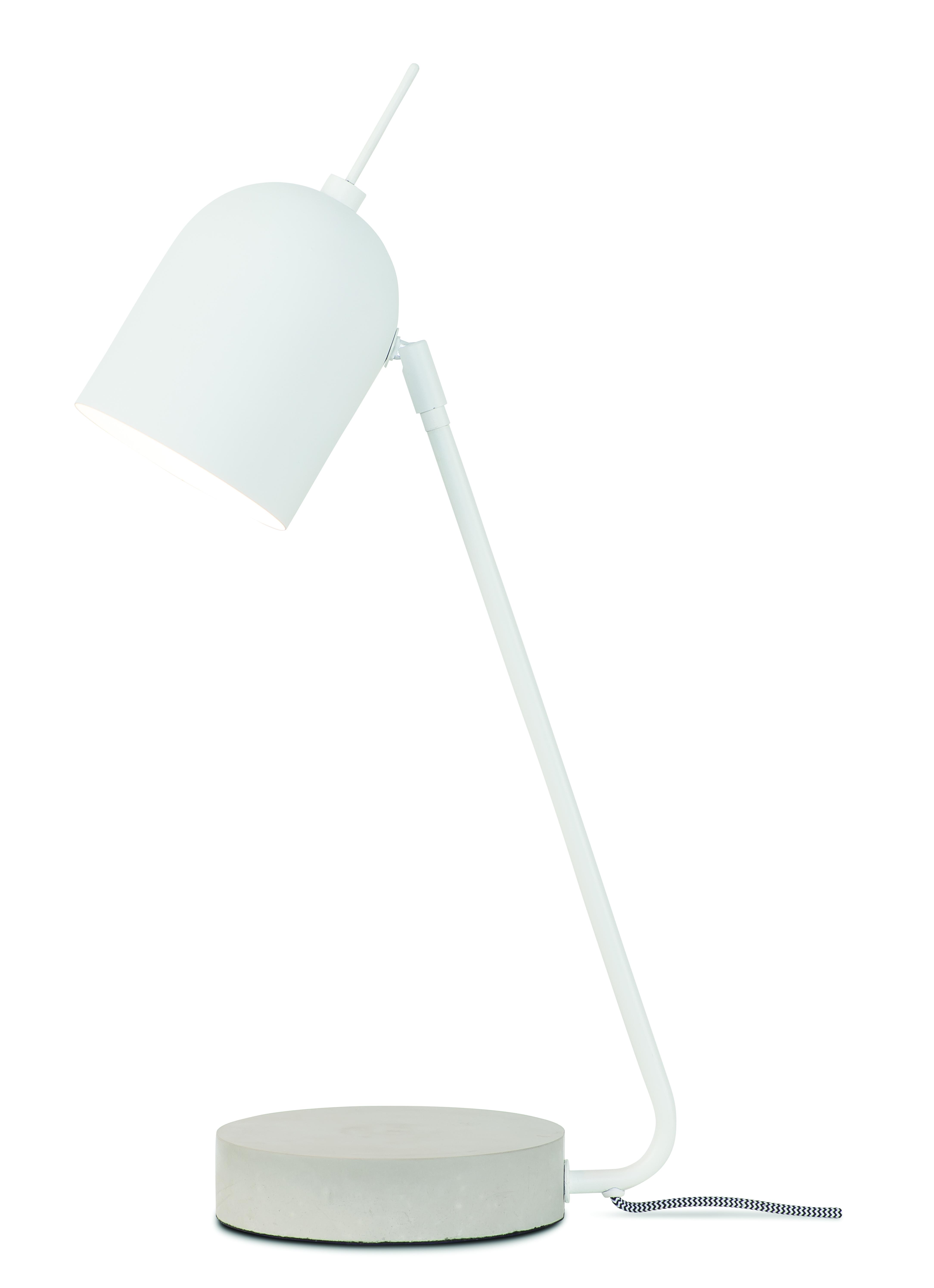 Lampe de table blanche H50cm