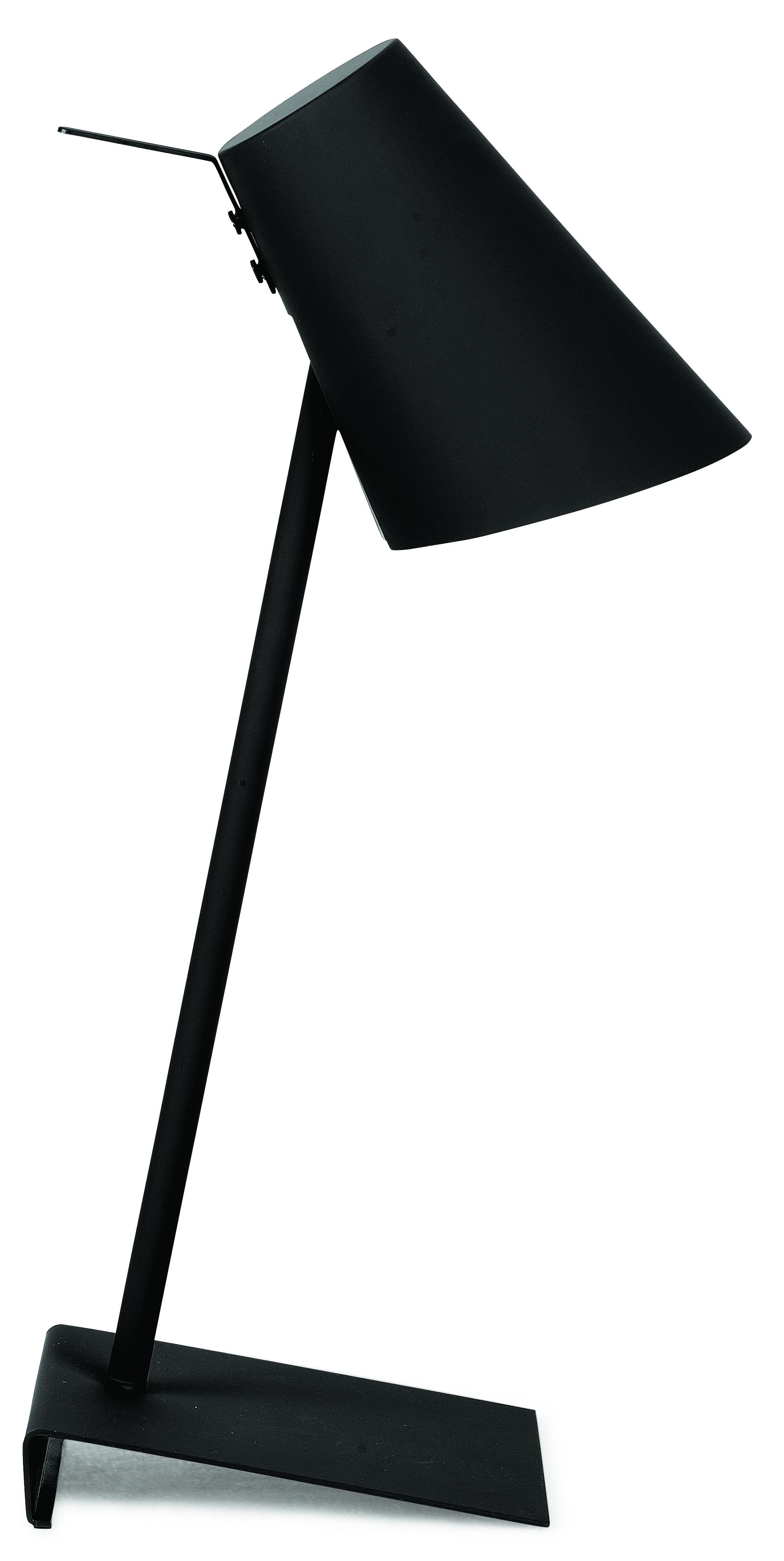 Lampe de table noire H54cm