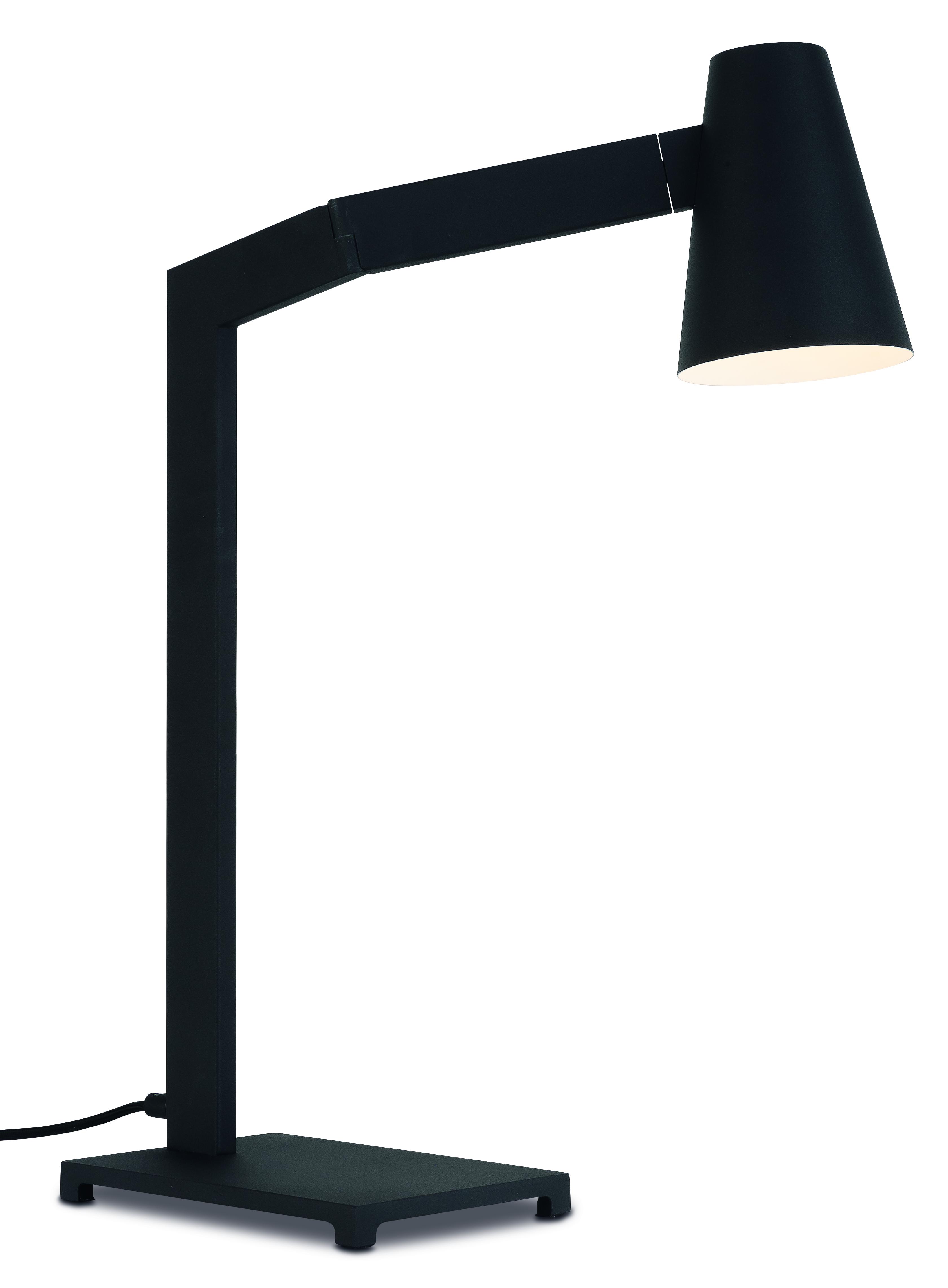 Lampe de table noire H60cm