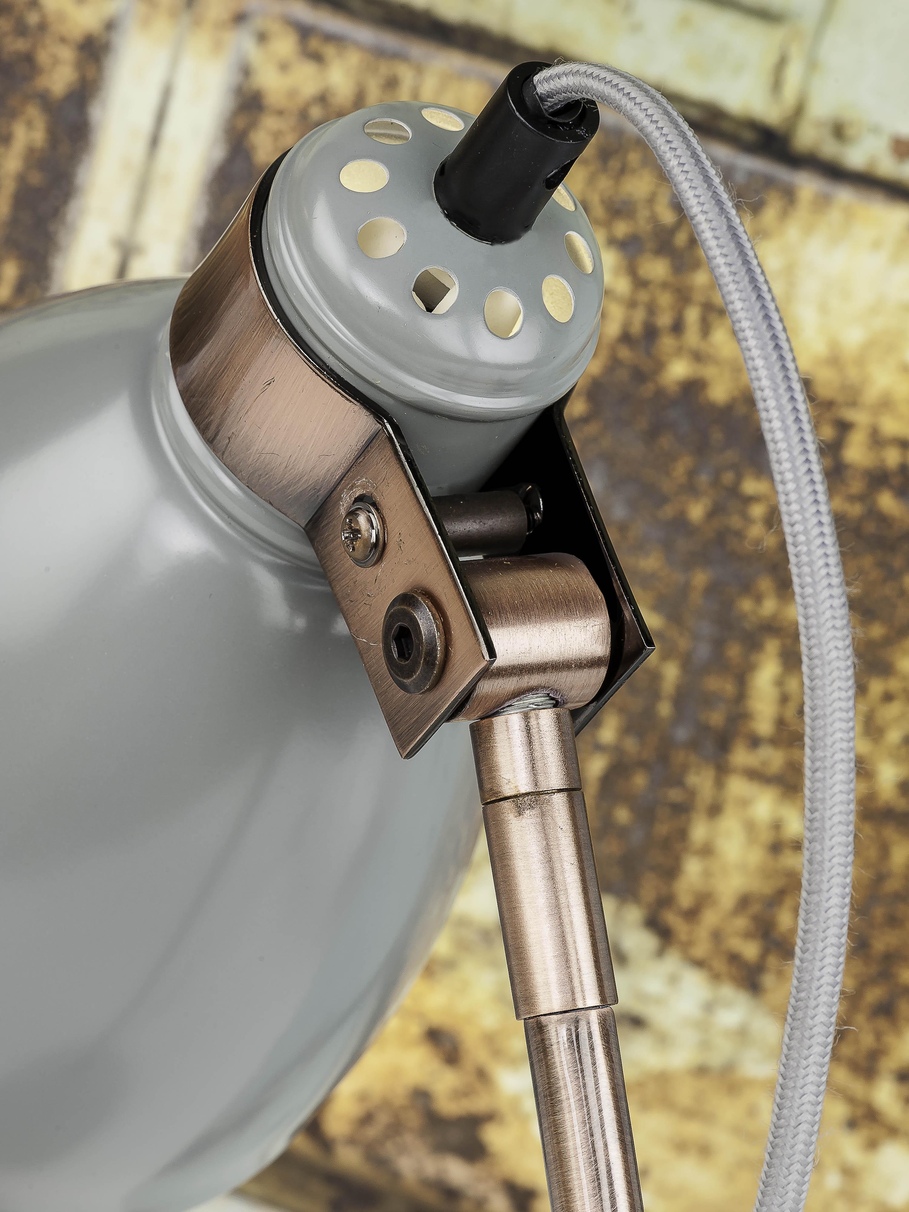 Lampe de table grise H50cm