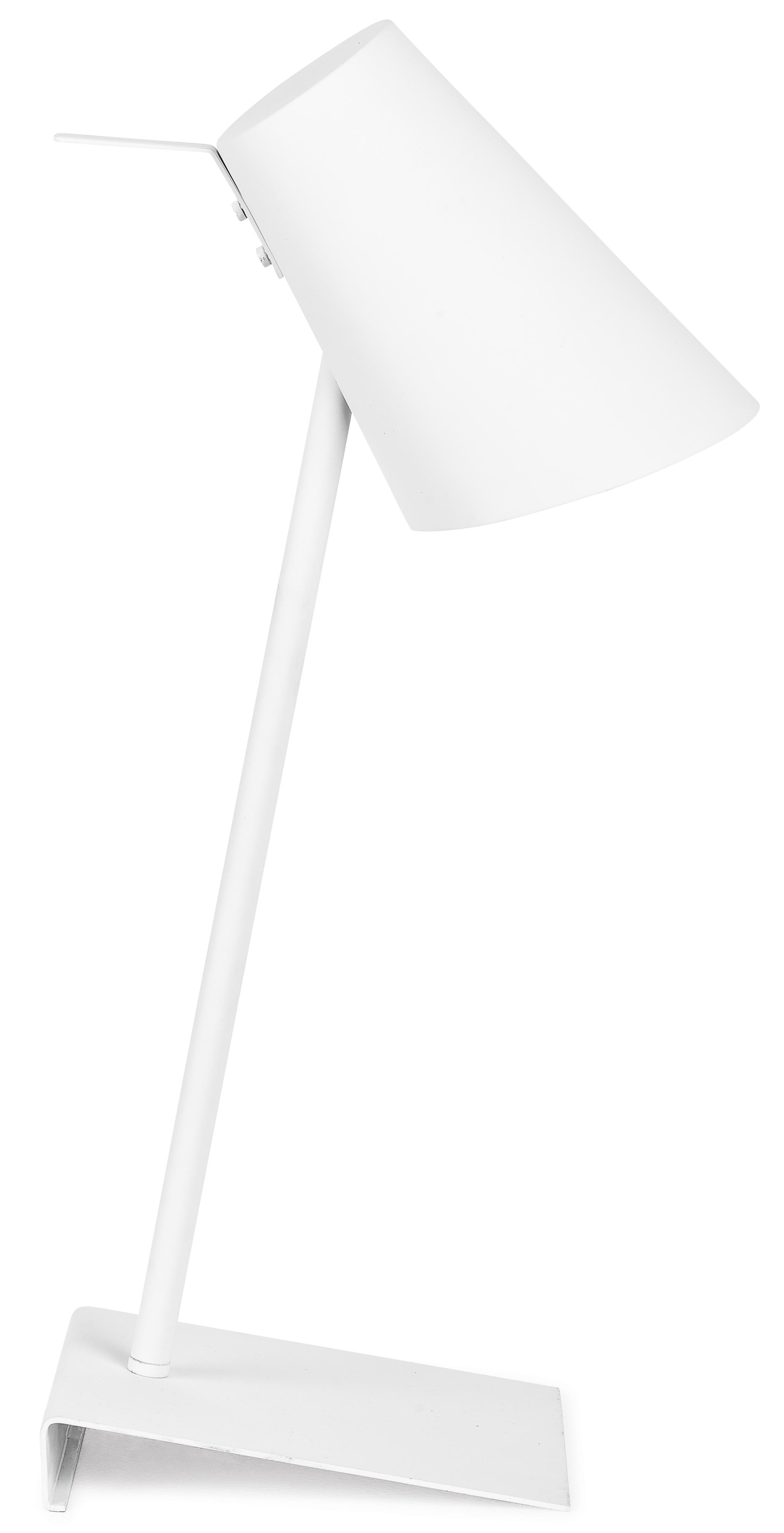 Lampe de table blanche H54cm