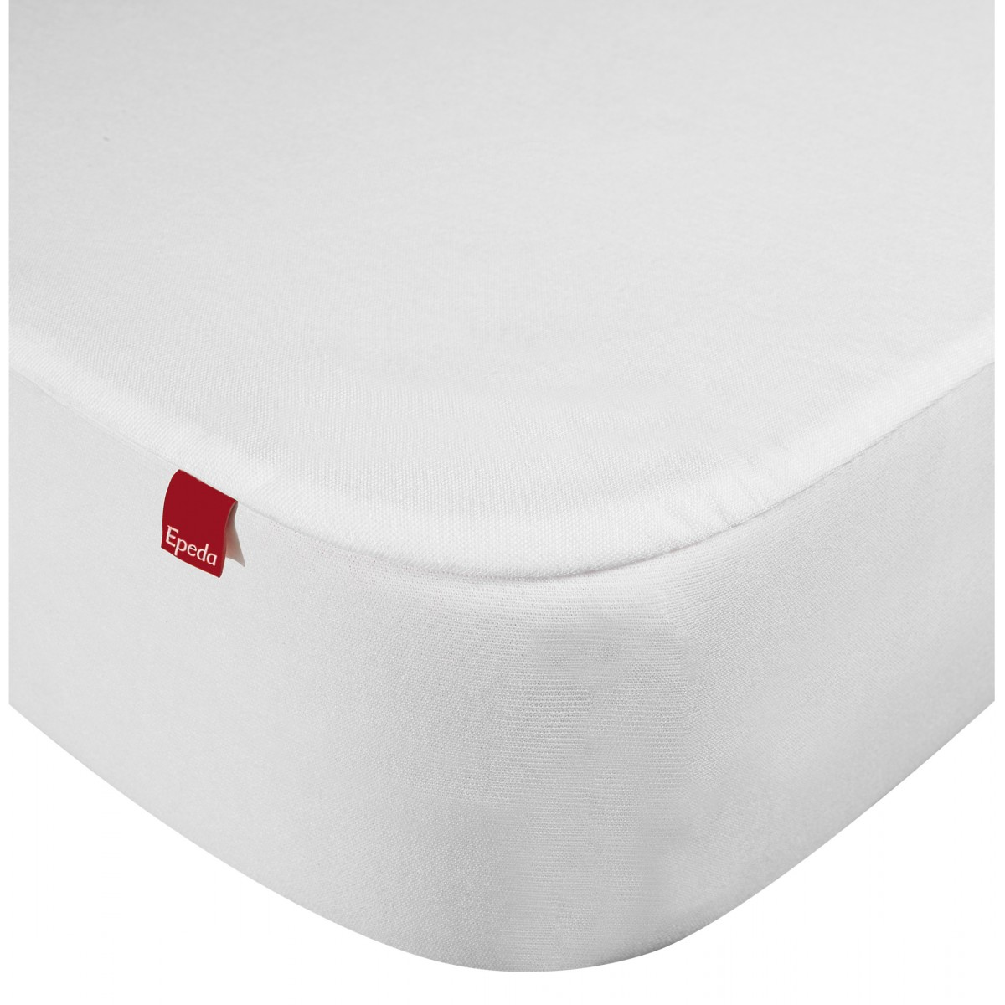 Drap housse protège matelas imperméable 2 en 1 blanc 80x190/200
