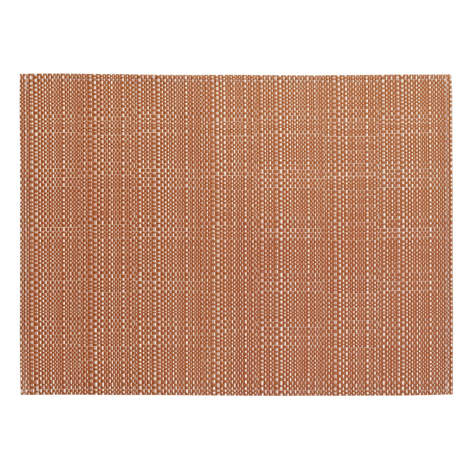 Set de table en pvc rouge 33x45