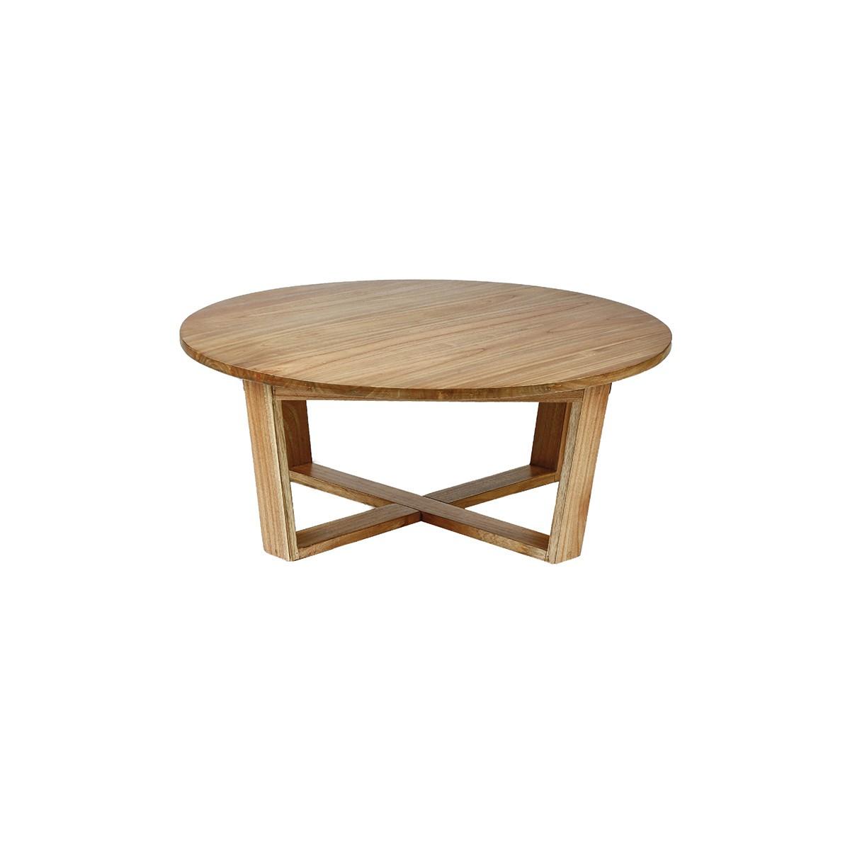 Table basse scandinave ronde en mindy