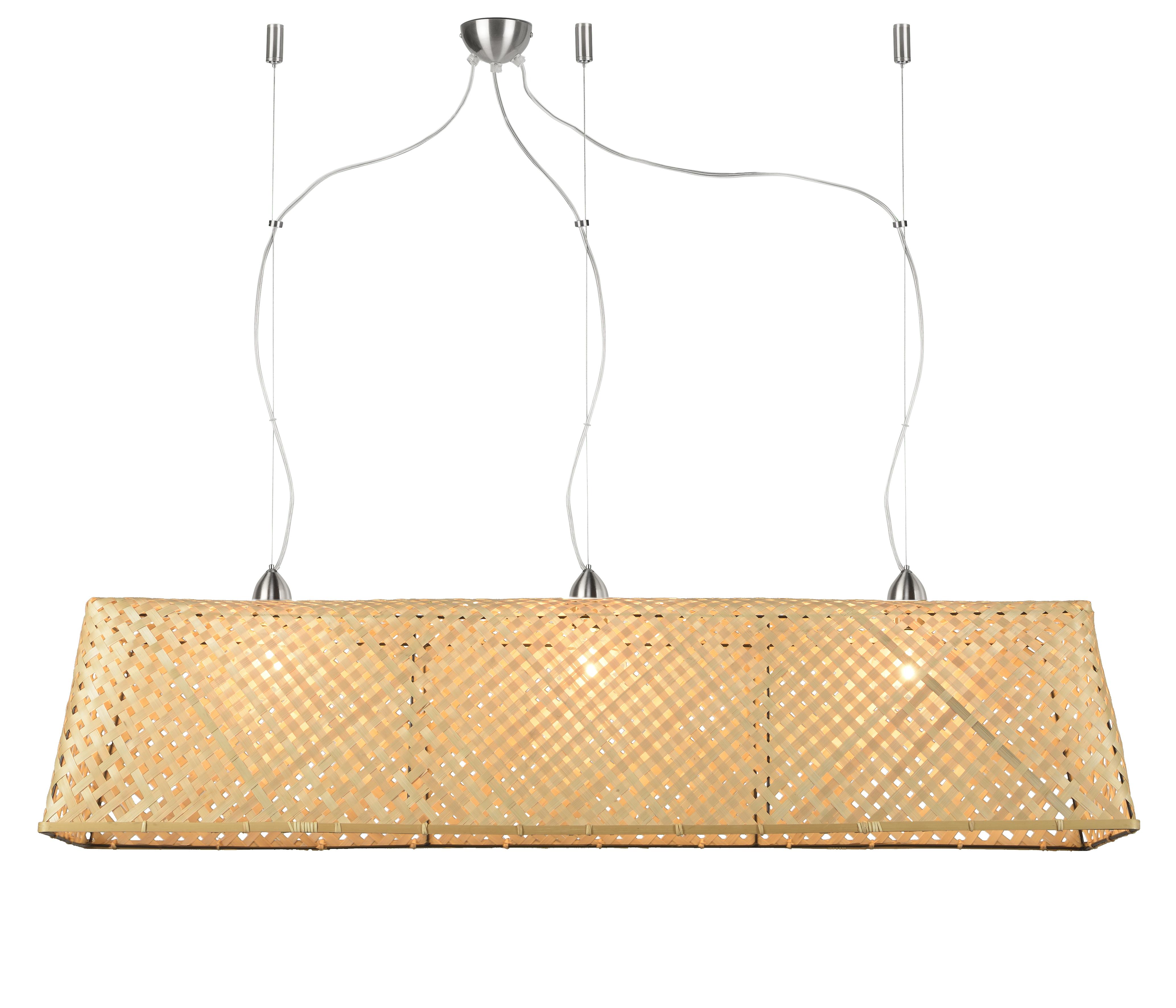 Suspension en bambou L130cm