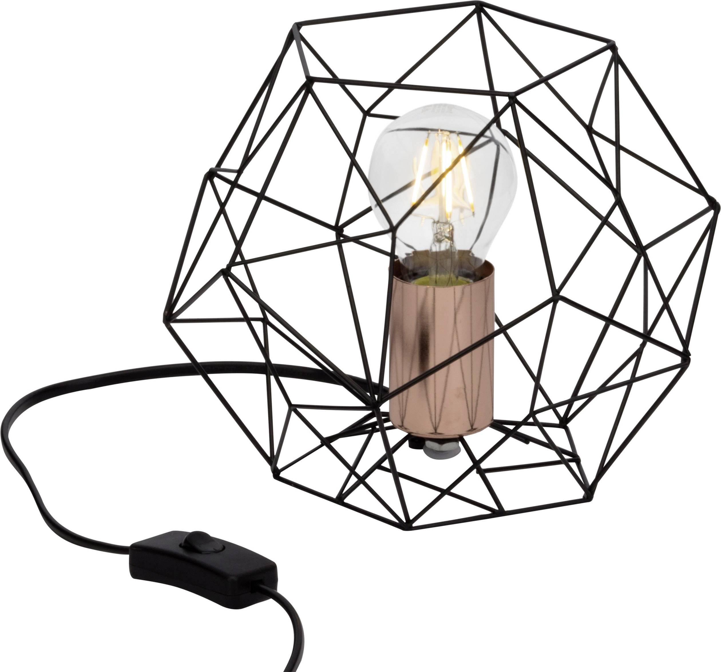 Lampe à poser métal hexagonale D22cm