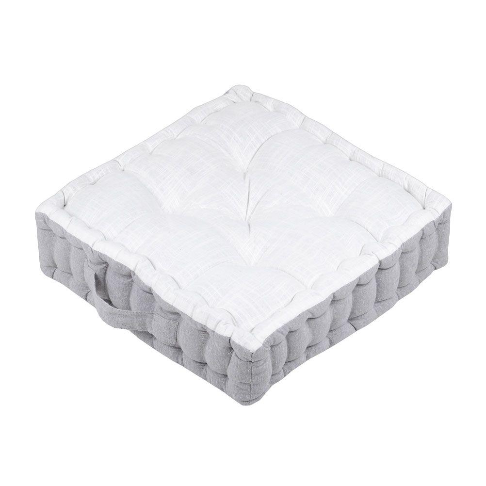 Coussin de sol en coton 45x45
