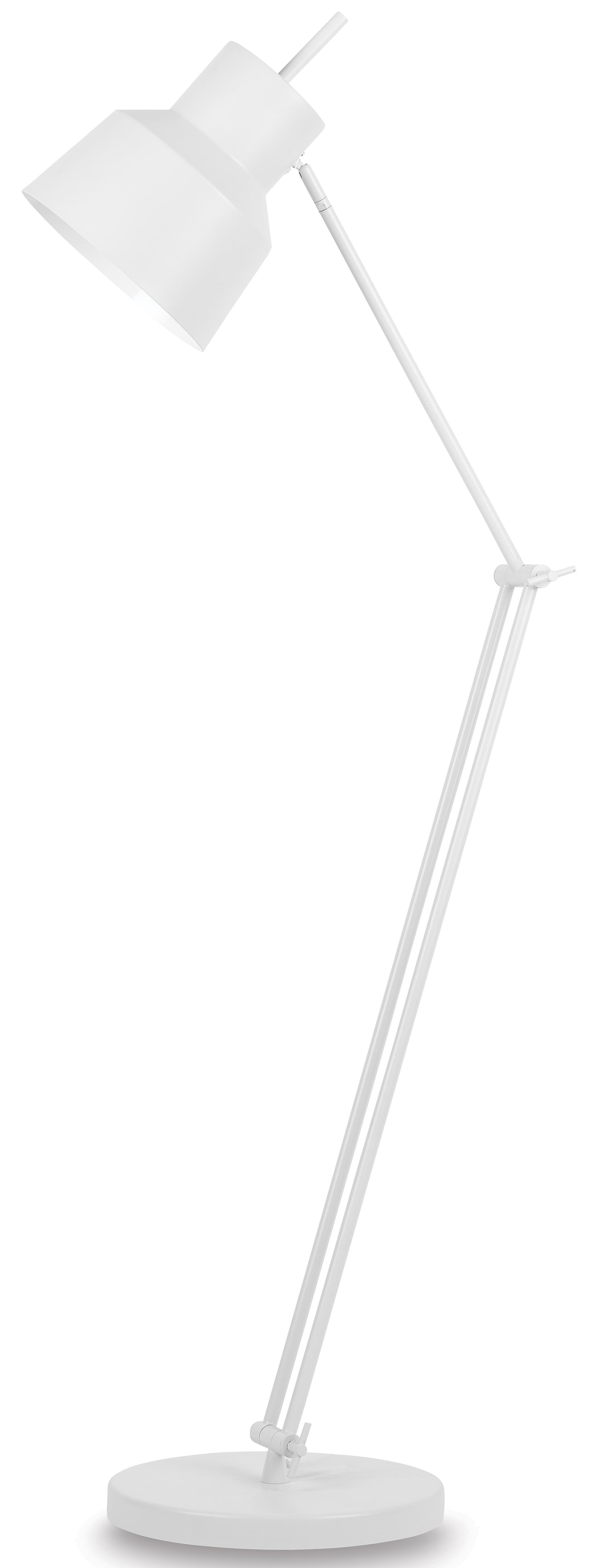 Lampadaire ajustable blanc H156cm