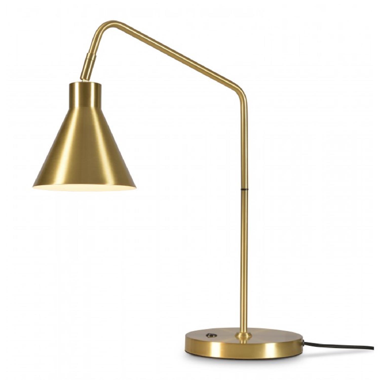 Lampe de table en métal doré H55cm