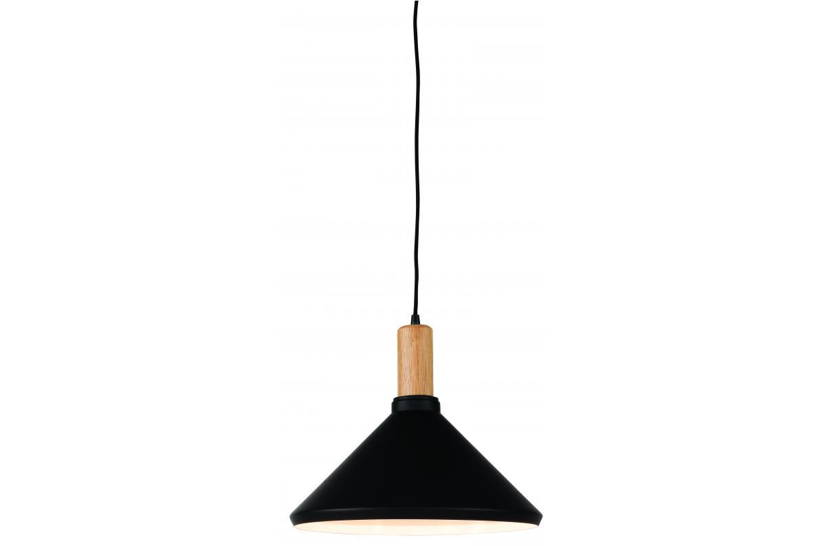 Suspension en fer noir H30cm