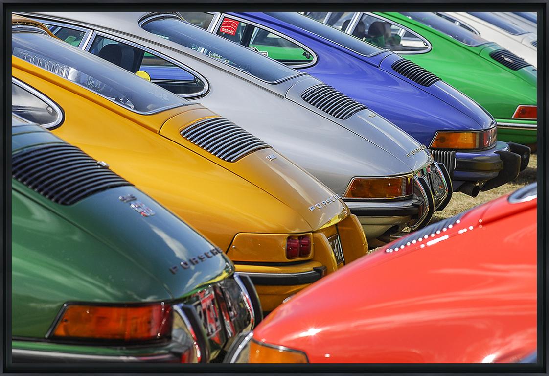 911 - Photo encadrée de Jean-Claude Lataste 60x40 cm