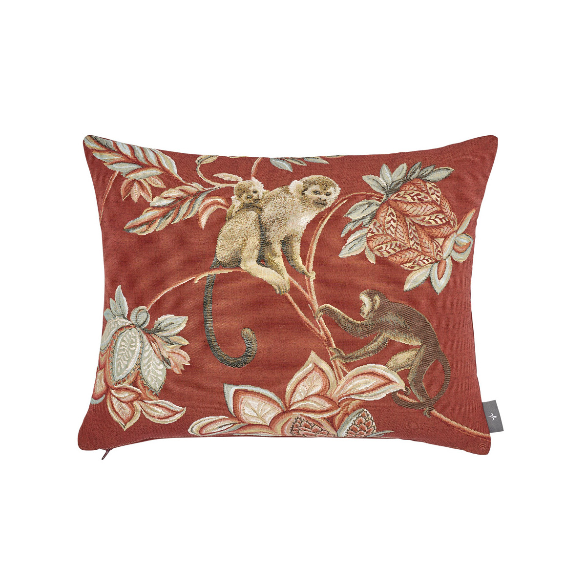 Coussin indiennes Rouge  40 x 50
