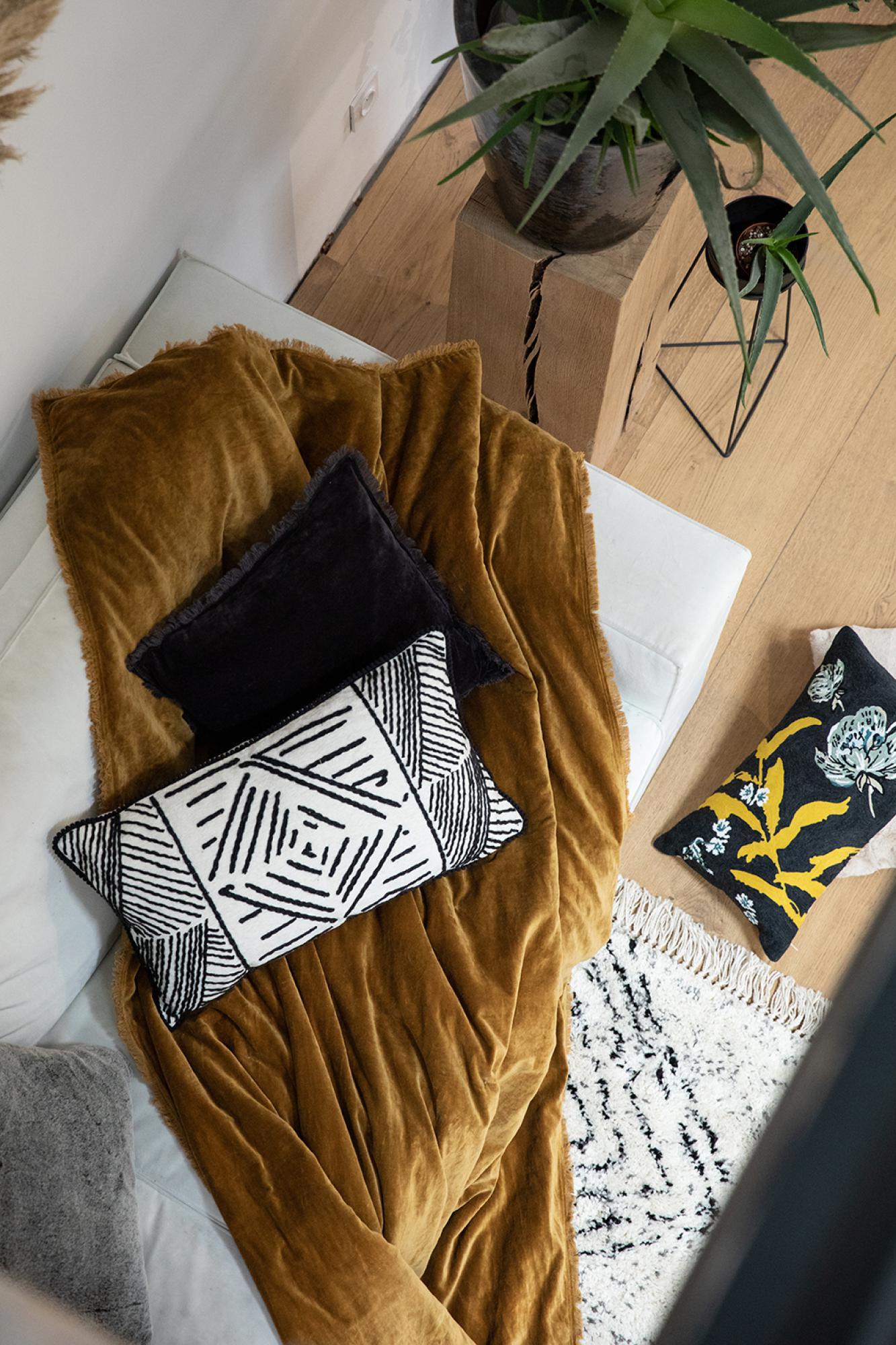 Edredon  en coton lin 85 x 200