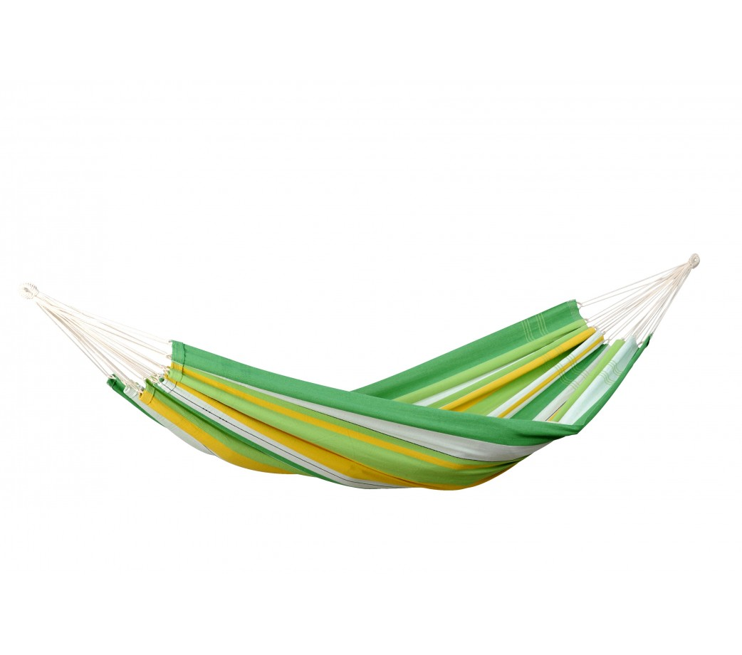 Hamac brésilien simple en coton vert
