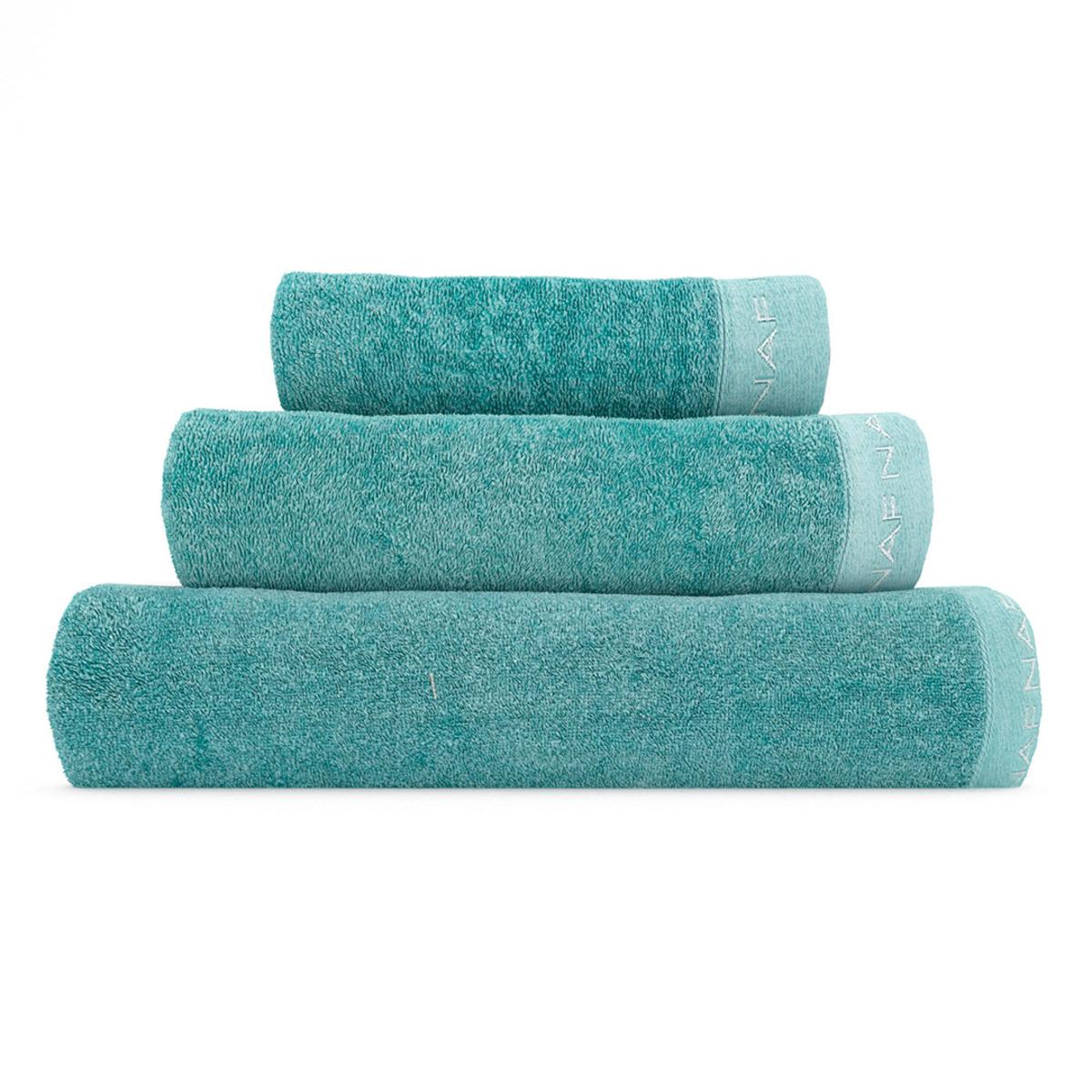 CASUAL - Set de bain trois pièces aigue-marine