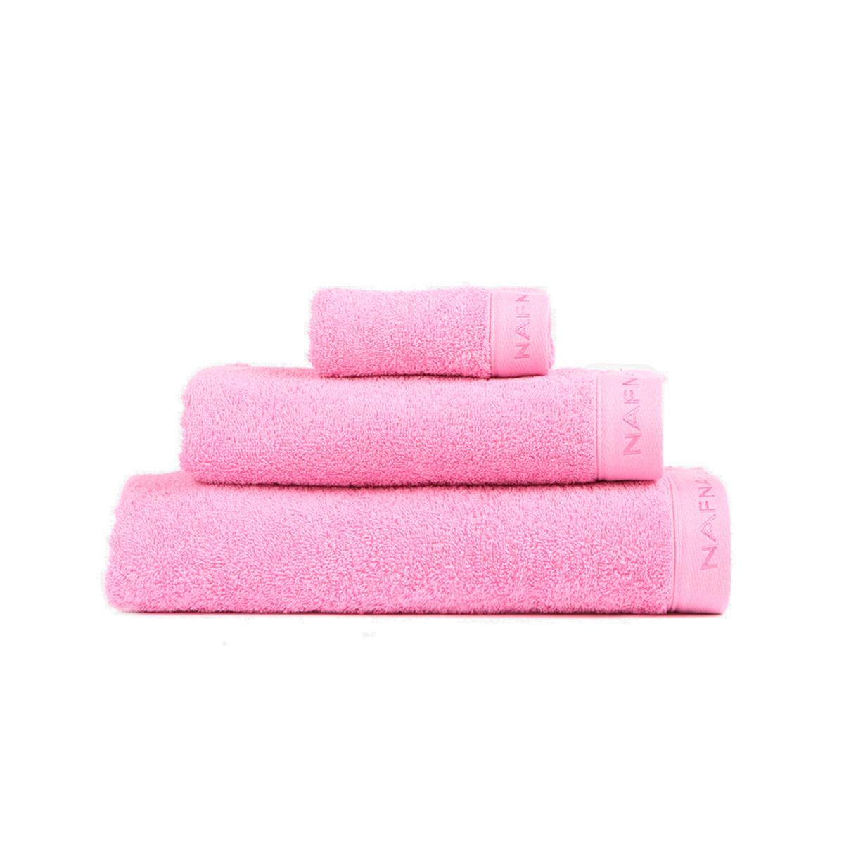 CASUAL - Set de bain trois pièces rose
