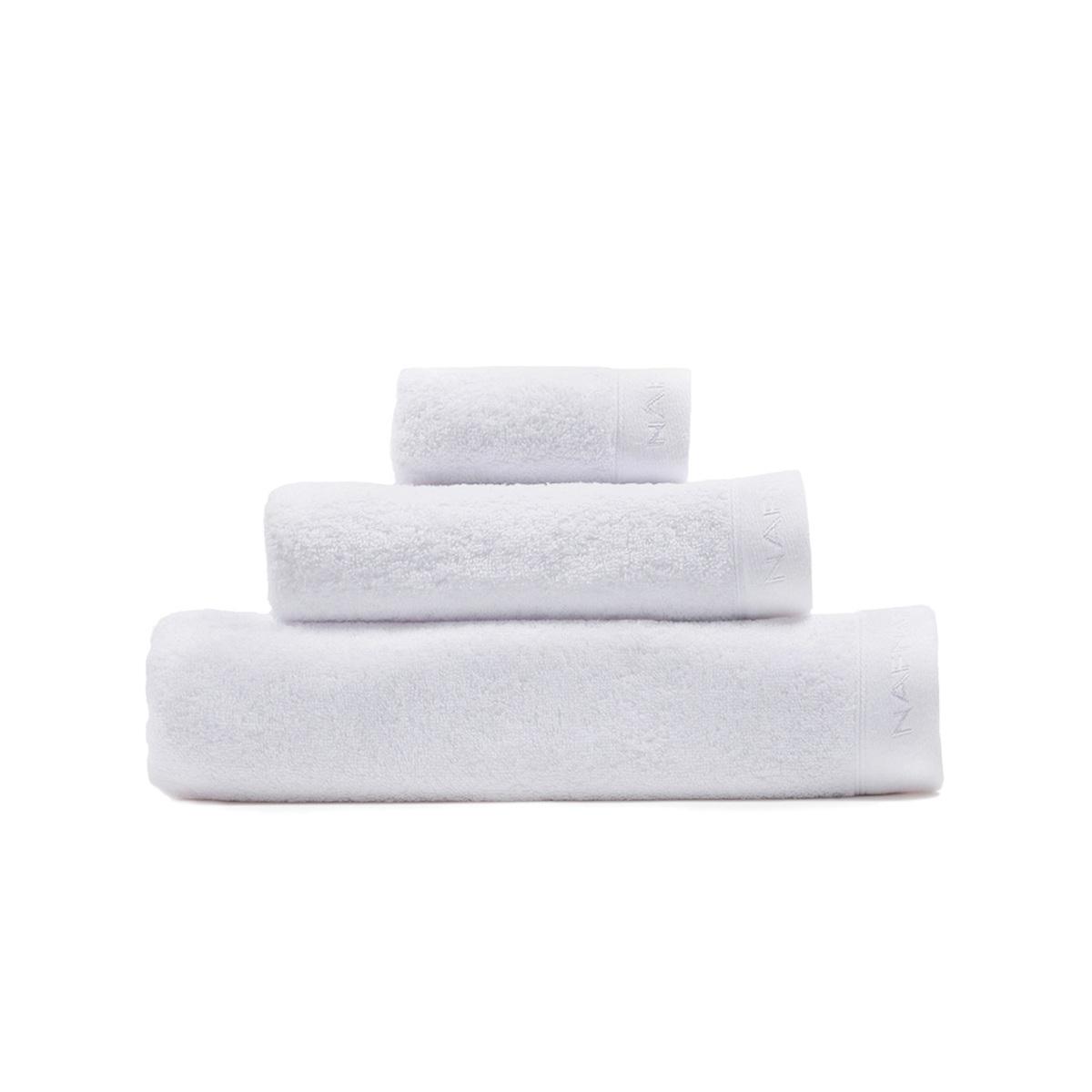 CASUAL - Set de bain trois pièces blanc