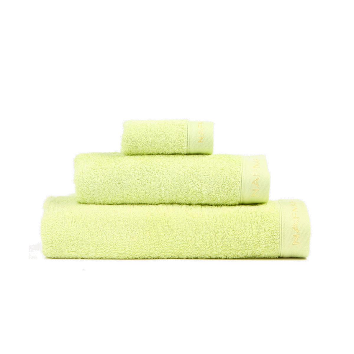 CASUAL - Set de bain trois pièces vert pistache