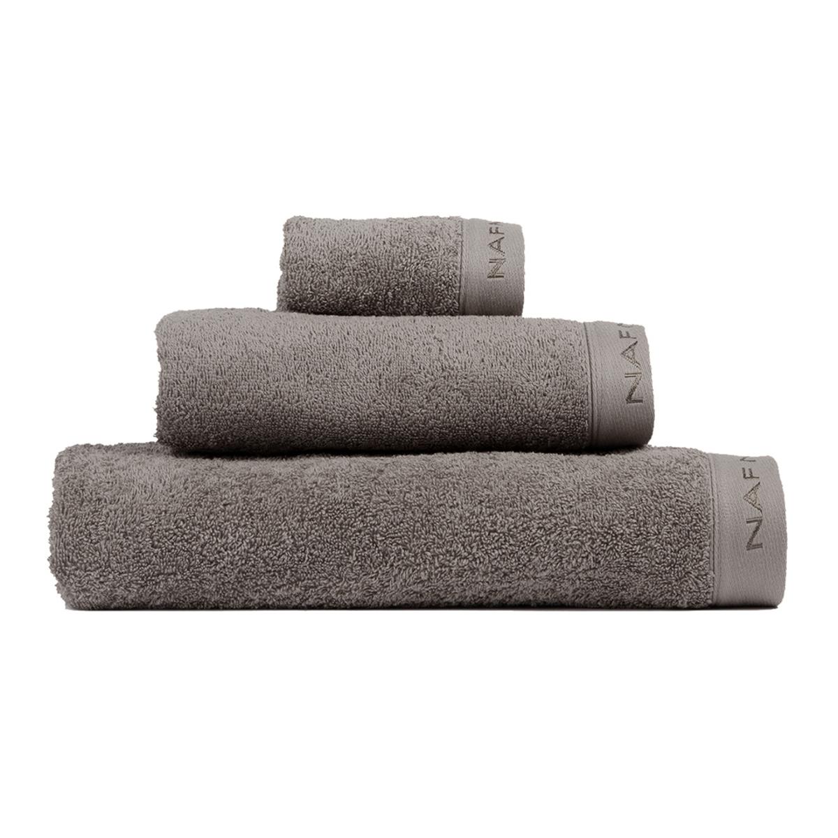 CASUAL - Set de bain trois pièces gris