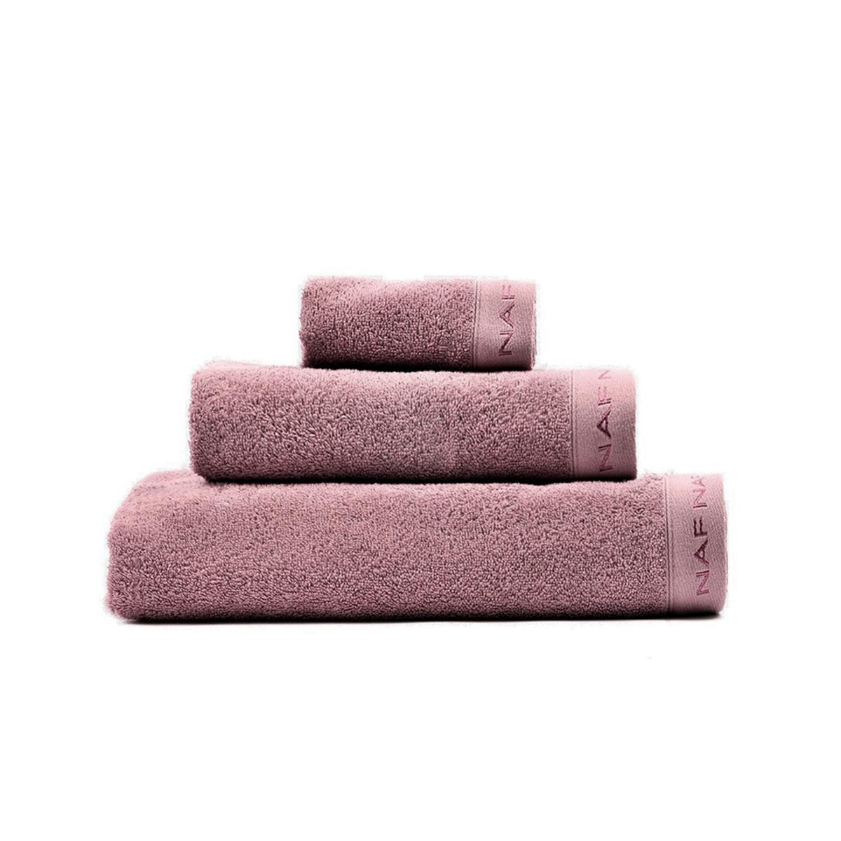 CASUAL - Set de bain trois pièces mauve