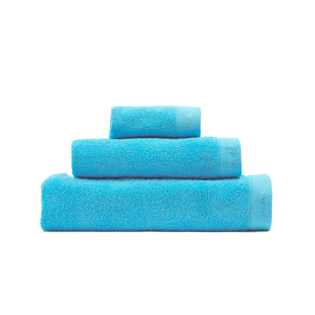 CASUAL - Set de bain trois pièces turquoise