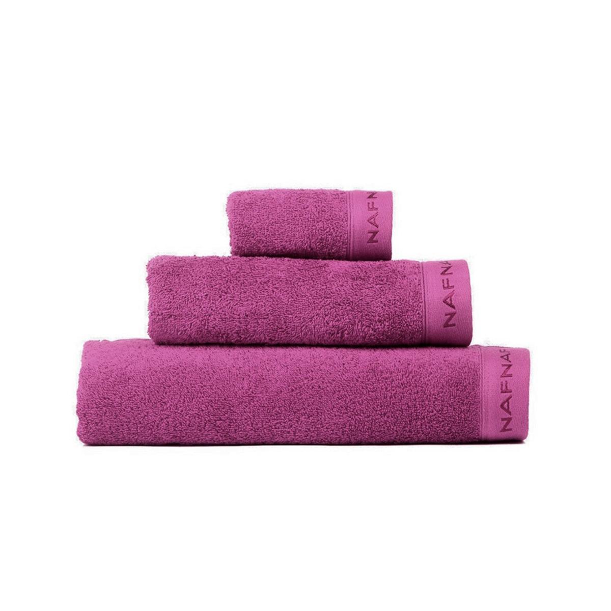 CASUAL - Set de bain trois pièces violet
