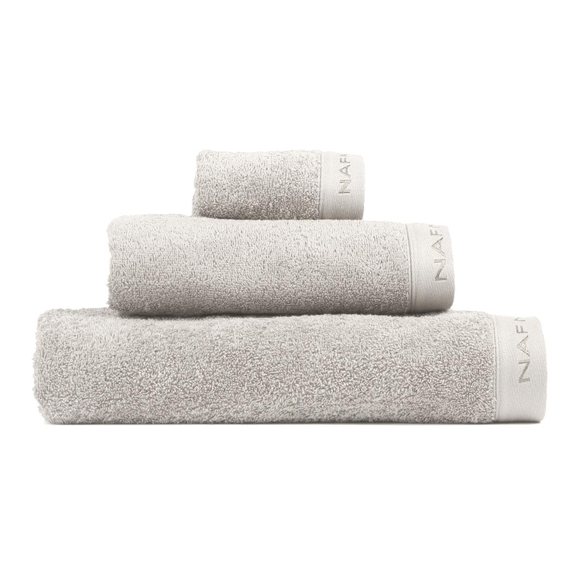 CASUAL - Set de bain trois pièces gris perle